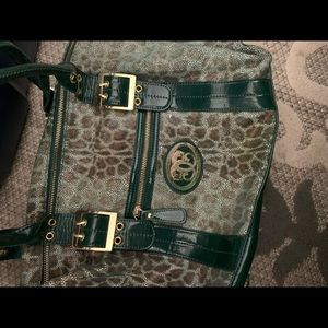 Sharif leather purse bag